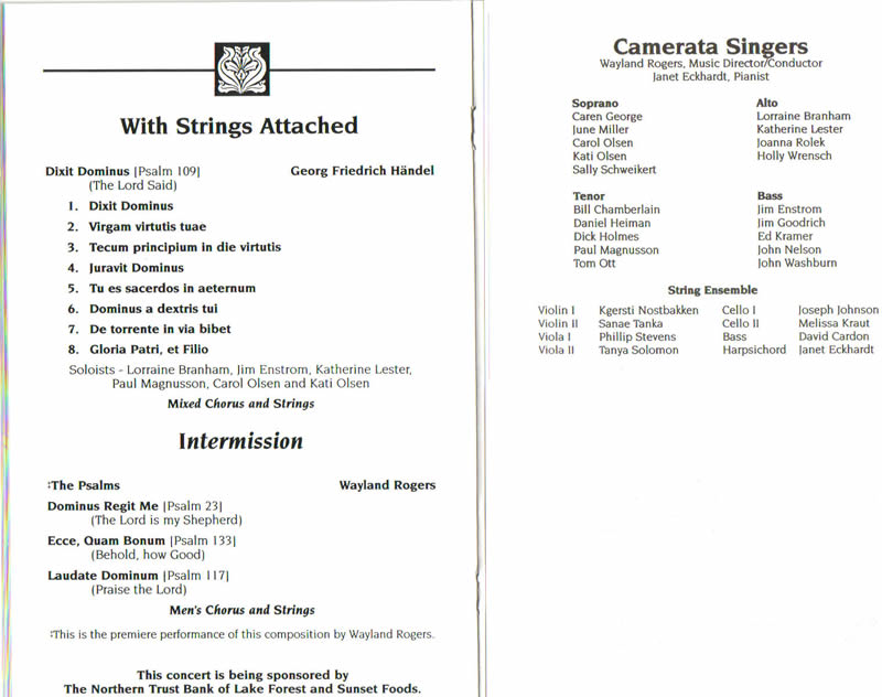 programs strings attached